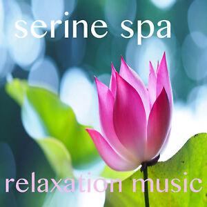 SERENITY SPA RELAXATION MUSIC CD  BEAUTY SALON SPA HOLISTIC THERAPIES MASSAGE