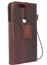 vintage genuine full leather case fit Huawei Nexus 6P wallet cover book magnet R