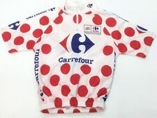 Tour France Polka Dot Climber Cycling Bike Racing Jersey Shirt MEN'S 2XS XXS