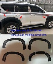 2PCS Chrome Steering Wheel Decorative Cap Trim For Toyota Prado FJ150 2014-16 x