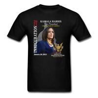 Kamala Harris 2021 Inauguration Day Commemorative Souvenir T-Shirt
