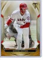 Shohei Ohtani 2019 Topps Triple Threads 5x7 Gold #87 /10 Angels