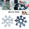 Hot 18-in-1 Stainless Steel Multi-Tool,Outdoor Camping Snowflake Screwdriver