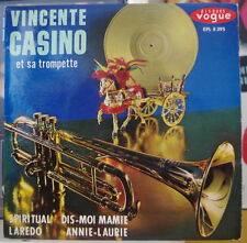 VINCENTE CASINO ET SA TROMPETTE SPIRITUAL LATIN JAZZ FRENCH EP DISQUES VOGUE