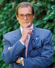 ROGER MOORE #3 10x8 PRE PRINTED LAB QUALITY PHOTO PRINT - Free Delivery