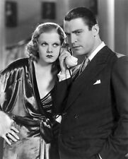 Jean Harlow and Chester Morris UNSIGNED photo - H6862 - Red-Headed Woman