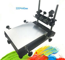 Manual solder paste printer,PCB SMT stencil printer M size 440x320mm NEW
