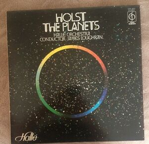LP HOLST THE PLANETS  HALLE ORCHESTRA JAMES LOUGHRAN  1976.