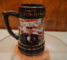 """""""First to Fight"""" Stein, USMC, Semper Fi, Forever Proud Stein Hamilton Collection"""