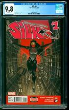 Silk 1 CGC 9.8 NM/MINT Cindy Moon 1st Dragonclaw Dave Johnson cover Marvel