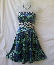 Kuku Size 10 Dress Strapless Evening Cocktail Party Occasion FREE POSTAGE