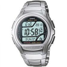Mens Casio Wave Ceptor Alarm Chronograph Radio Controlled Watch WV-58DU-1AVES