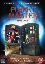 Puppet Master Trilogy DVD   3 Discs Boxset (1991)