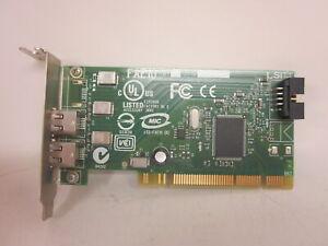 Firewire 0J886H Low Profile 2 Port  Internal Header PCI Firewire Card FAE10 AM1
