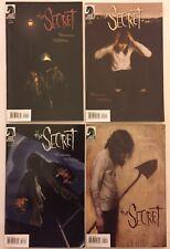 The Secret #1, 2, 3, 4 Complete Run (Dark Horse, 2007) VF- (4 Comics)