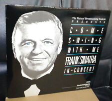 Frank Sinatra In Concert - Come Swing With Me - VINYL 3XLP Set RARE!