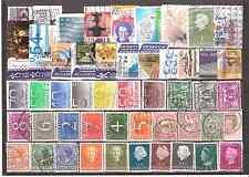HOLANDA Conjunto de 50 sellos usados diferentes