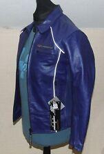 DANNISPORT Leather Motorcycle Jacket Ladies 14 BNWT