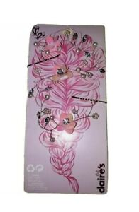 Claire's Pink Floral Bling Hair Vine Accessory Beauty Fashion Pins