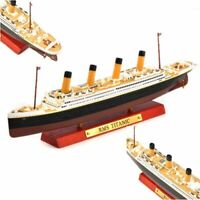 1:1250 ATLAS Diecast RMS TITANNIC Cruises Ship Model Diecast Boat Vehicel Toy
