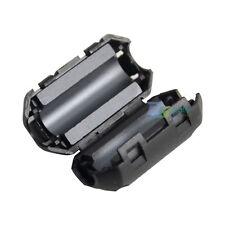 Clip on EMI RFI Noise Suppressor Ferrite Core Filter Magnet for 5mm Dia Cable