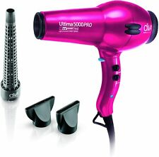 The Diva Professional Styling Ultima 5000 Pink Hairdryer - 4 heat, 2 speed 2000W