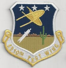USAF 6510 TEST WING PATCH -     LIKELY A HERITAGE PATCH FOR 412 TEST WG    COLOR