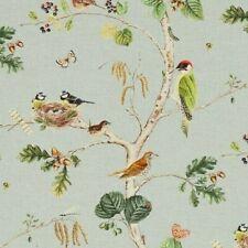 "SANDERSON CURTAIN FABRIC DESIGN ""Woodland Chorus"" 160 cm x 128 cm SKY BLUE/MULTI"