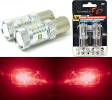 LED Light 30W PY21W Red Two Bulbs Rear Turn Signal Replacement Upgrade Lamp Fit