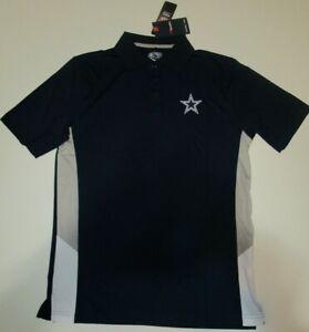 New Dallas Cowboys NFL Football Fanatics Pro Line polo golf shirt men's medium M