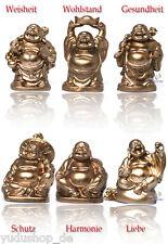 6 stück verschiedene Buddha Figuren  Glücksbringer Happy Buddha 2,48€/Stk