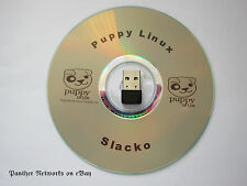 Puppy Linux Live CD + 802.11n 150Mbps USB Adapter