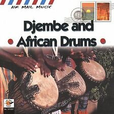 NEW Air Mail Music: Djembe & African Drums (Audio CD)