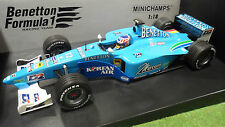 F1 BENETTON 2000 formule 1 B200 WURZ PLAYLIFE 1/18 MINICHAMPS 180000012 voiture