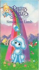Precious Moments Simon the Lamb  VHS Very Good 1994