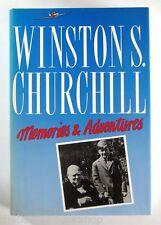 WINSTON S. CHURCHILL - MEMORIES & ADVENTURES (1989) - Hardback