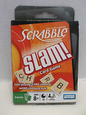 Scrabble Slam! Card Game Parker Brothers NIB 2008!
