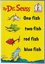 1988 ~ By Dr.Seuss One fish two fish red fish blue fish ! ~ ( Beginner's Book )