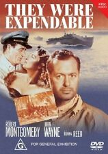 DVD - THEY WERE EXPENDABLE JOHN WAYNE