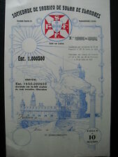 Fabrico de Folha de Flandres Lisboa  Lissabon 10er