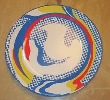 Roy Lichtenstein Paper Plate POP Art Limited Edition Andy Warhol Keith Haring