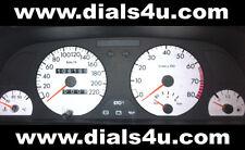PEUGEOT 306 PHASE 1 (1993-1997) - 220 km / h (essence ou diesel) - Kit Cadran Blanc
