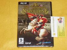 LE CAMPAGNE DI NAPOLEONE x PC NUOVO SIGILLATO IN ITALIANO STRATEGICO - STRATEGIA