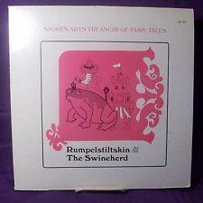 Spoken Arts 33 RPM LP Fairy Tales Album Rumpelstiltskin & The Swineherd + Book
