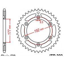 Couronne acier 53 dents husqvarna 250-350-400-430 Jt sprockets JTR223.53