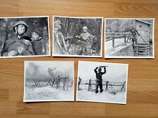 Sam Peckinpah: CROSS OF IRON - 5  vintage 8x10 stills  James Coburn WWII 1977