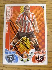 2010/2011 Autograph: Sunderland - Turner, Michael [Hand Signed 'Topps Match Atta