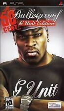 Brand New Bulletproof 50 Cent-- G Unit Edition(Sony PSP, 2006)