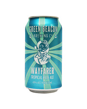 Green Beacon Brewing Co Wayfarer Tropical Pale Ale 375mL case of 24 Craft Beer