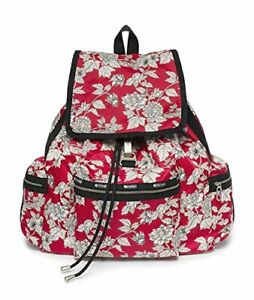 LeSportsac Women's Voyager Backpack Bag in Carousel Floral